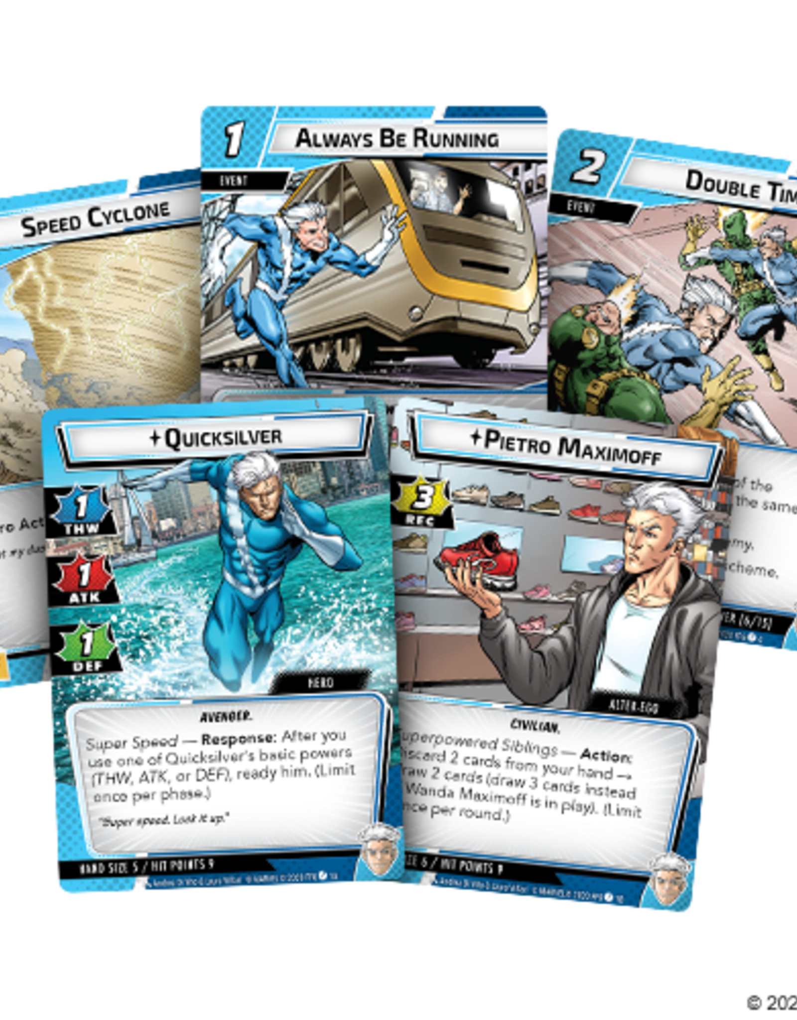 FFG Marvel Champions LCG: Quicksilver Hero Pack