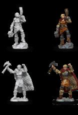 Wizkids D&D Mini: NM Primed: F Human Barbarian