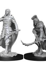 Wizkids D&D Mini: NM Primed: Elf Male Ranger
