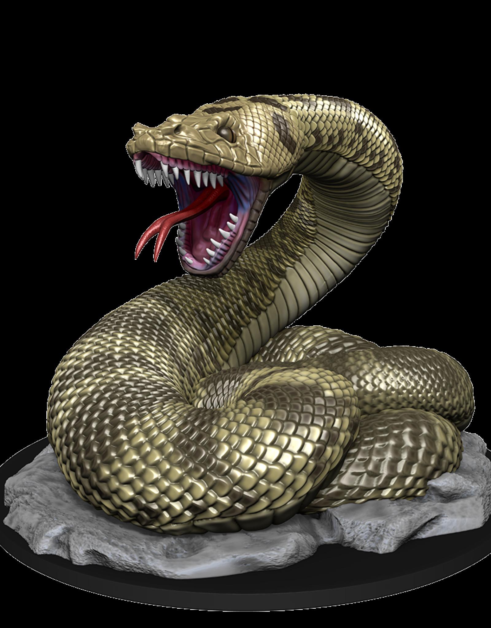 Wizkids D&D Mini: NM Primed: Giant Constrictor Snake
