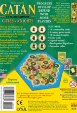 AsmodeeNA Catan: Cities and Knights 5-6 player extension