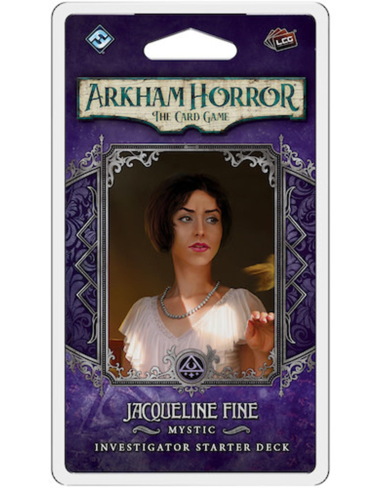 FFG Arkham Horror LCG: Jacqueline Fine Investigator Starter Deck