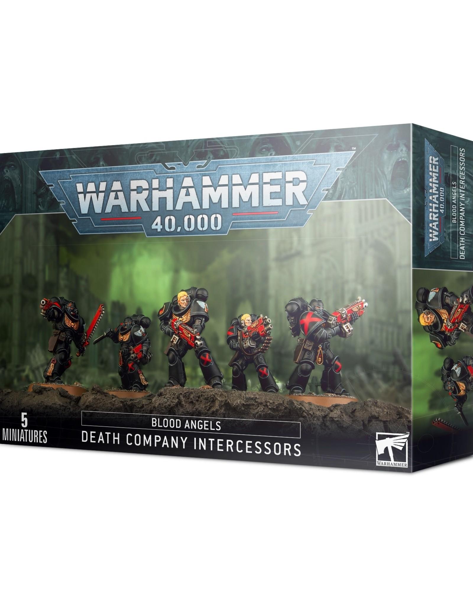 Games Workshop Warhammer 40K: Blood Angels Death Company Intercessors