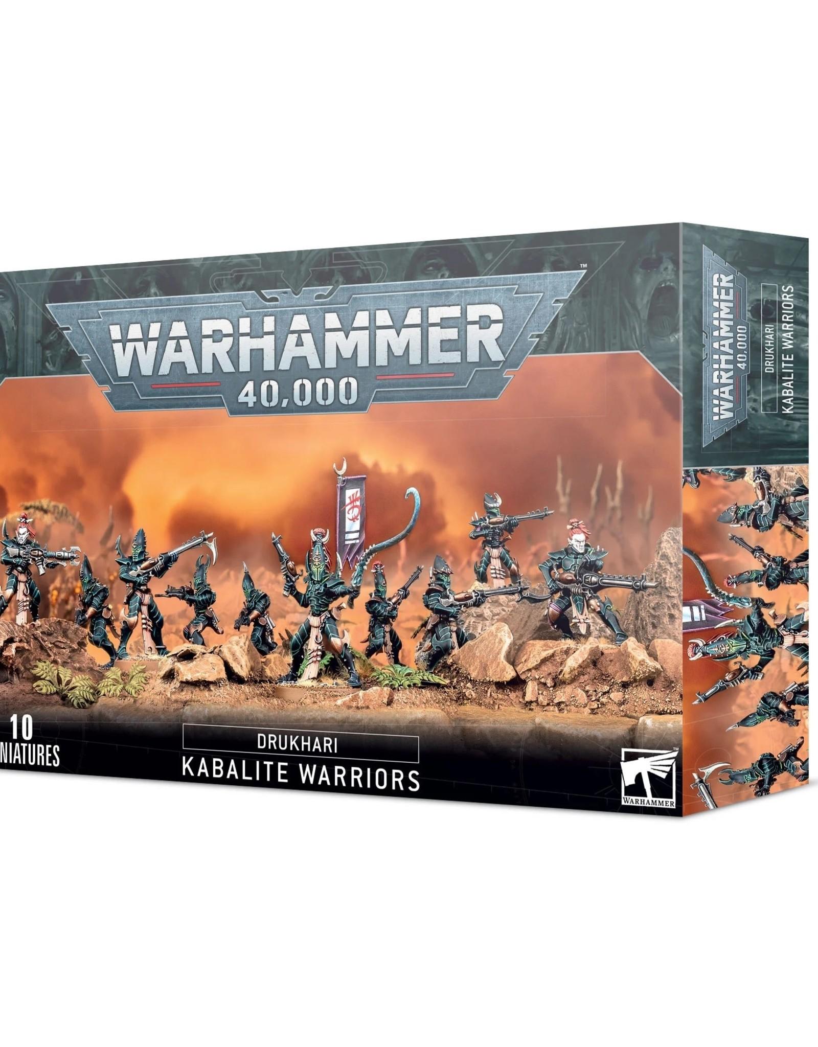 Games Workshop Warhammer 40K: Drukhari Kabalite Warriors