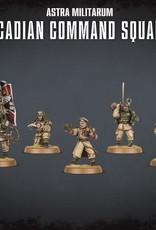 Games Workshop Warhammer 40K: Astra Militarum Cadian Command Squad