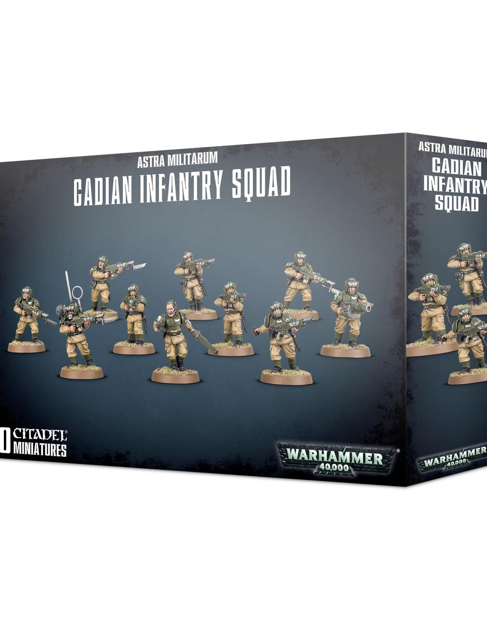 Games Workshop Warhammer 40K: Astra Militarum Cadian Infantry Squad