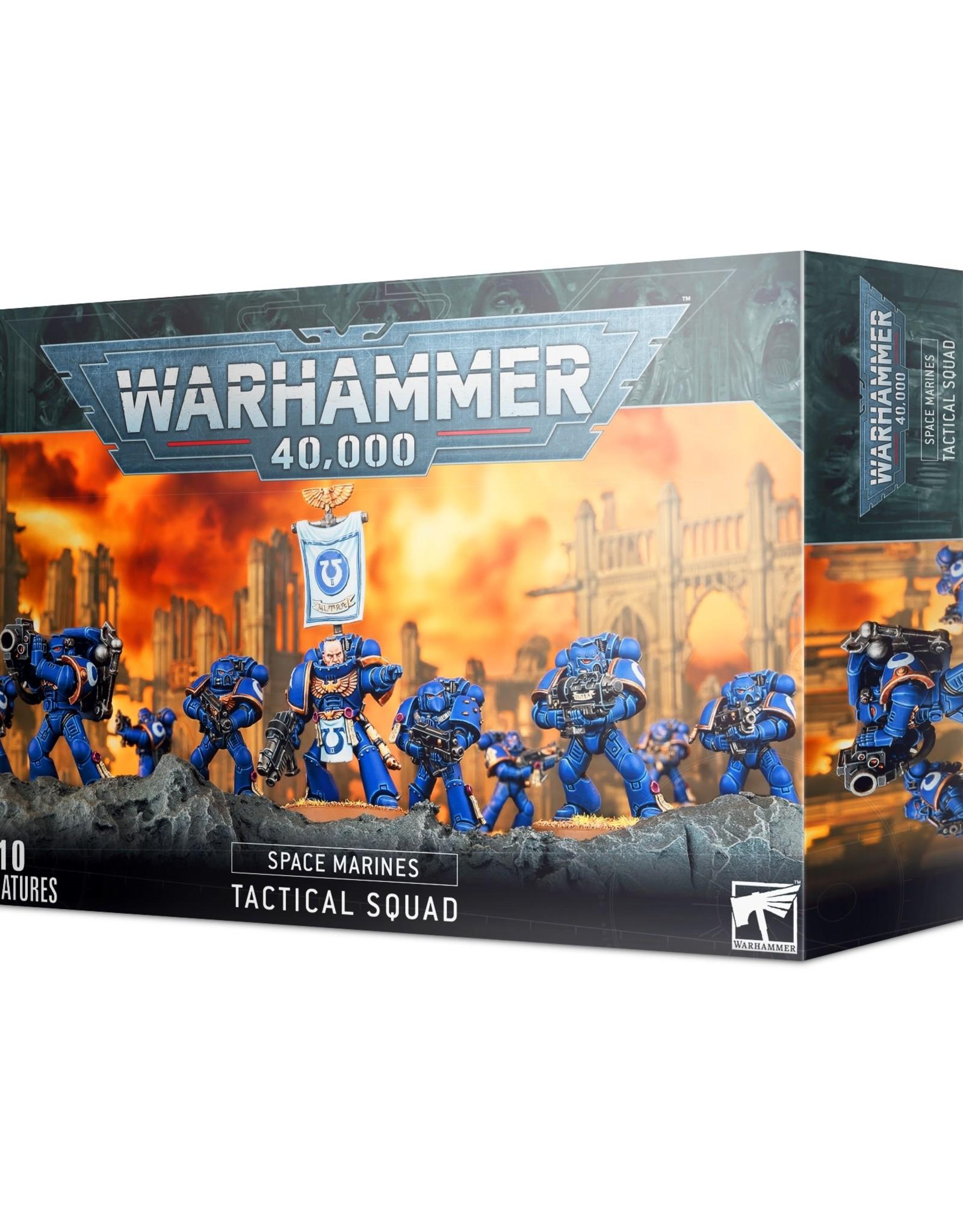 Games Workshop Warhammer 40K: Adeptus Astartes Space Marine Tactical Squad
