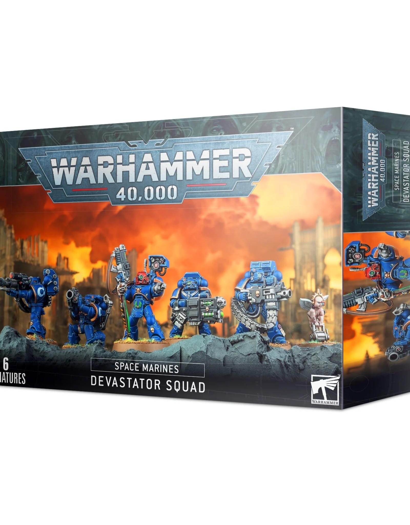 Games Workshop Warhammer 40K: Adeptus Astartes Space Marine Devastator Squad