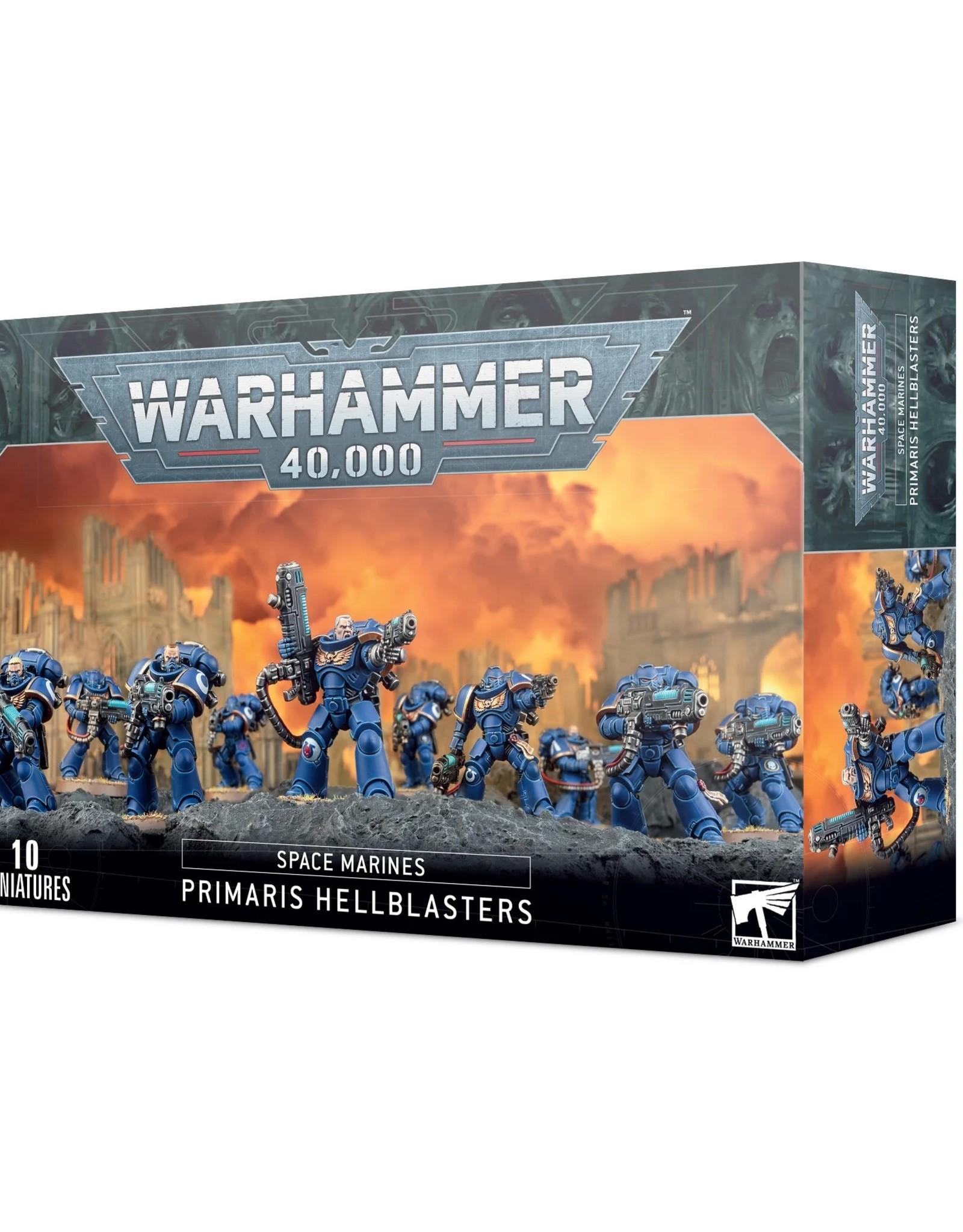 Games Workshop Warhammer 40K: Space Marines Primaris Hellblasters