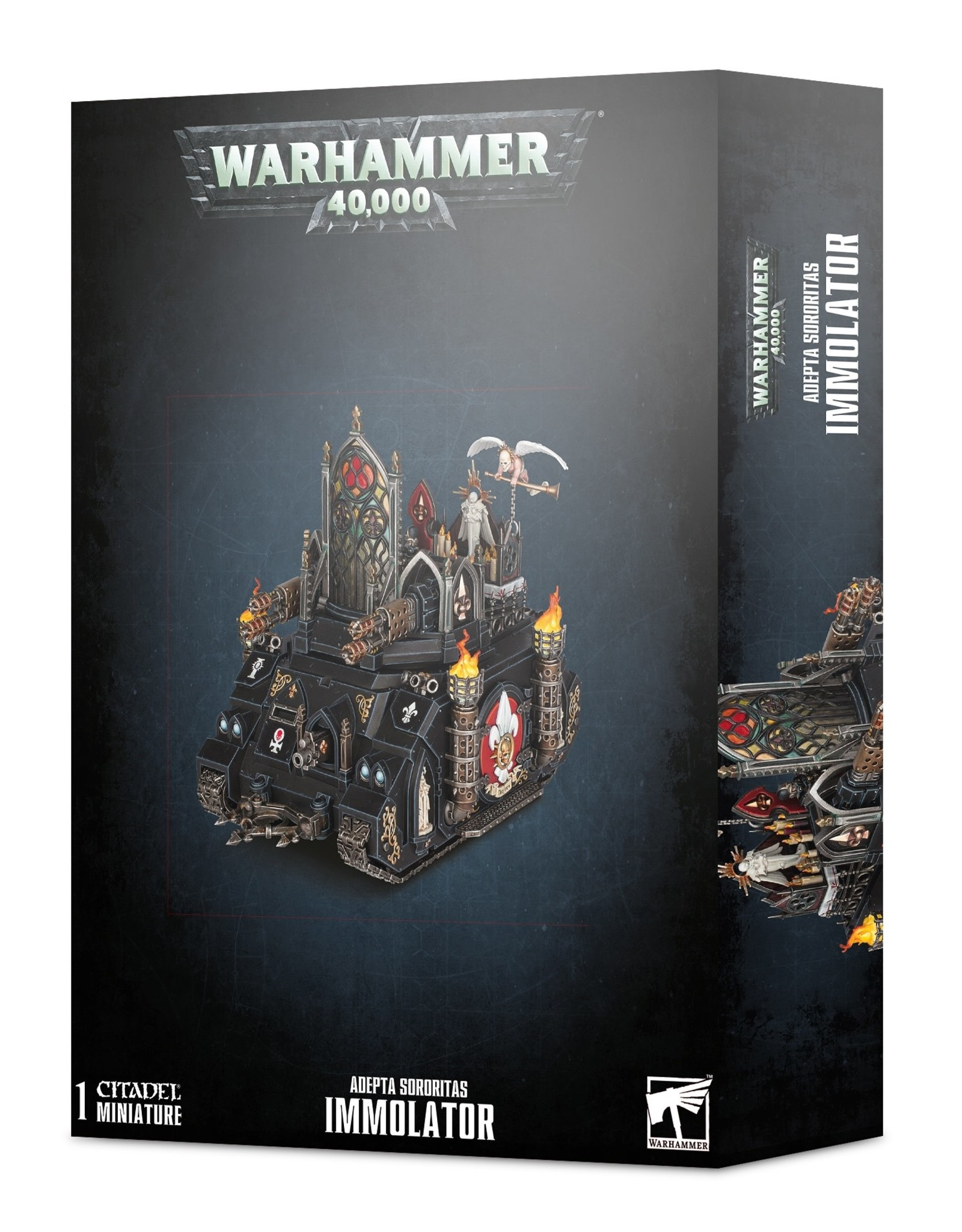 Games Workshop Warhammer 40K: Adepta Sororitas Immolator