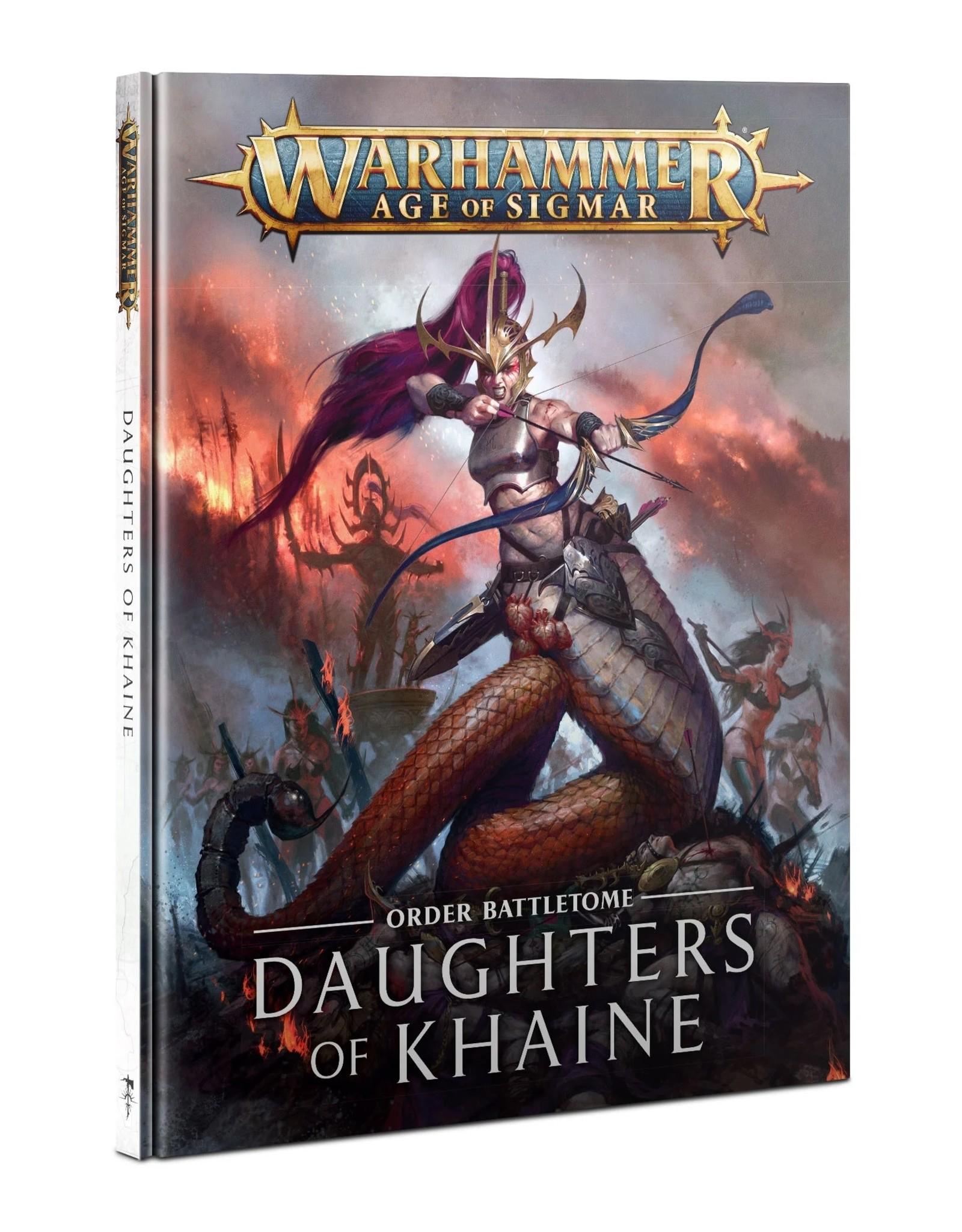 Games Workshop Age of Sigmar: Battletome-Daughters of Khaine