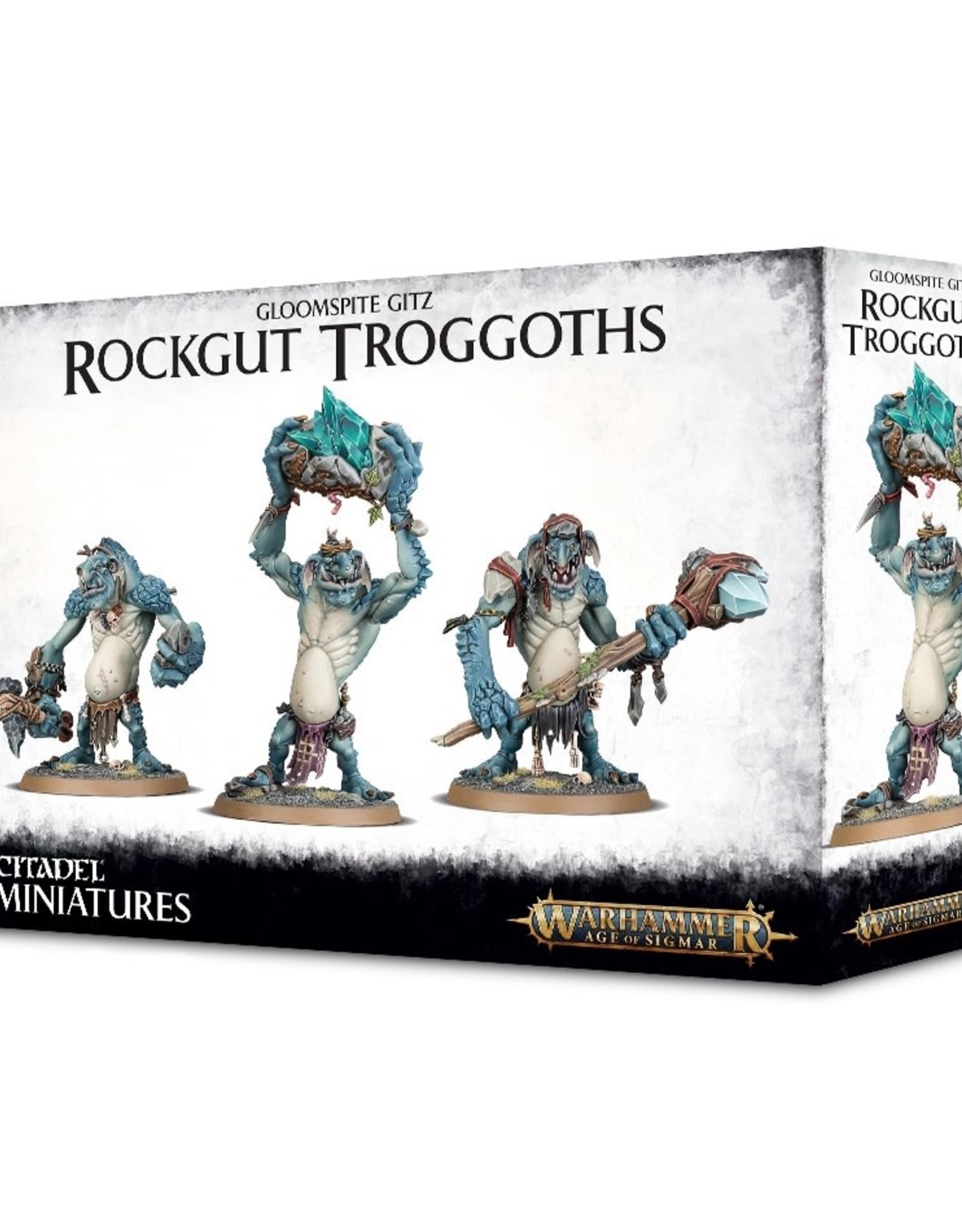 Games Workshop Warhammer AoS: Gloomspite Gitz Rockgut Troggoths