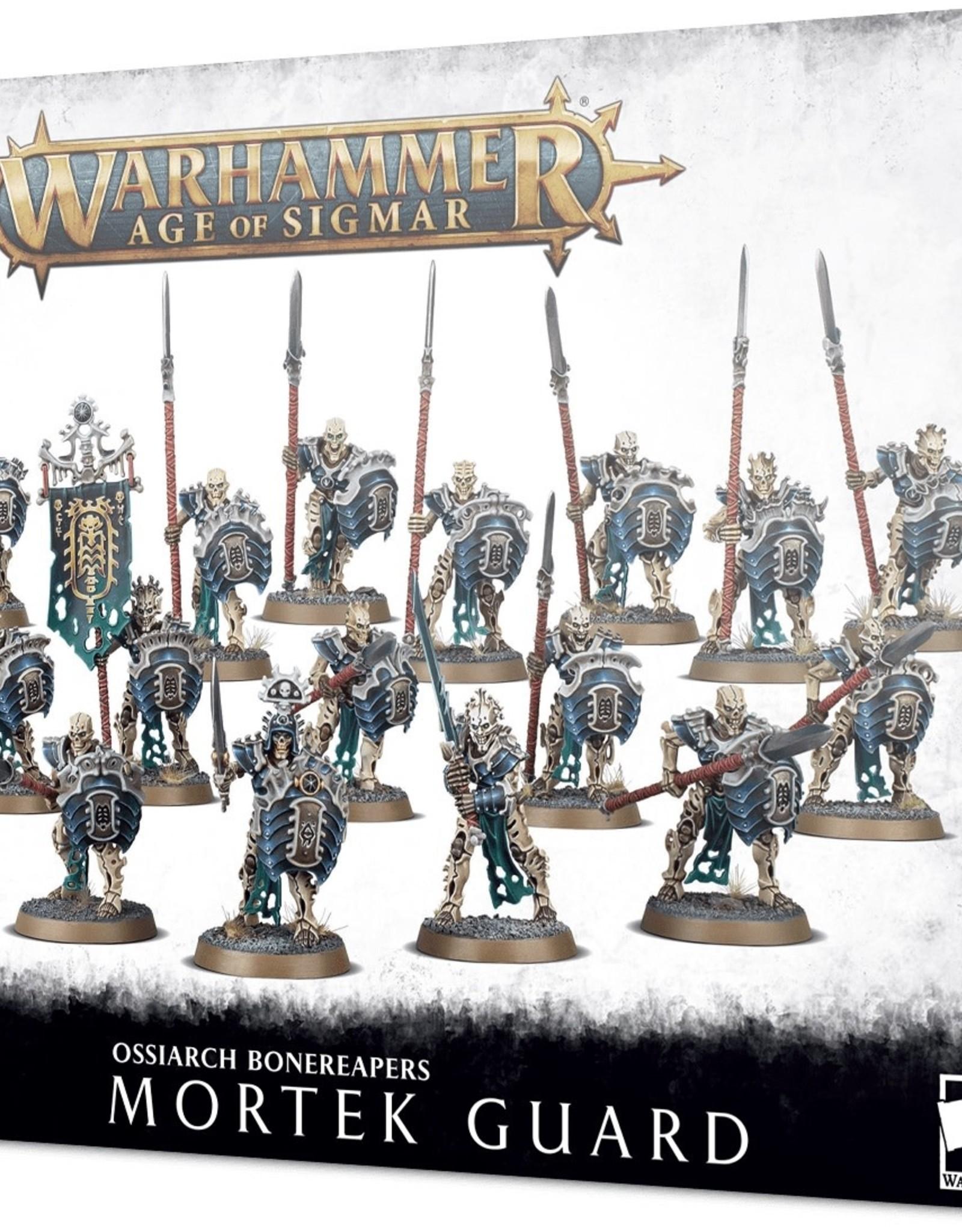 Games Workshop Warhammer Age of Sigmar: Ossiarch Bonereapers Mortek Guard