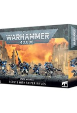 Games Workshop Warhammer 40K: Space Marines Scouts with Sniper Rifles