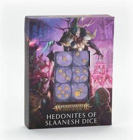 Games Workshop Age of Sigmar: Hedonites of Slaanesh Dice Set