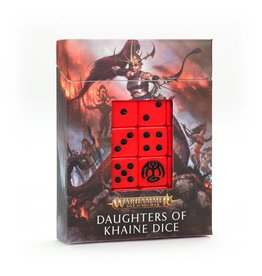 Games Workshop Age of Sigmar: Daughters of Khaine Dice Set