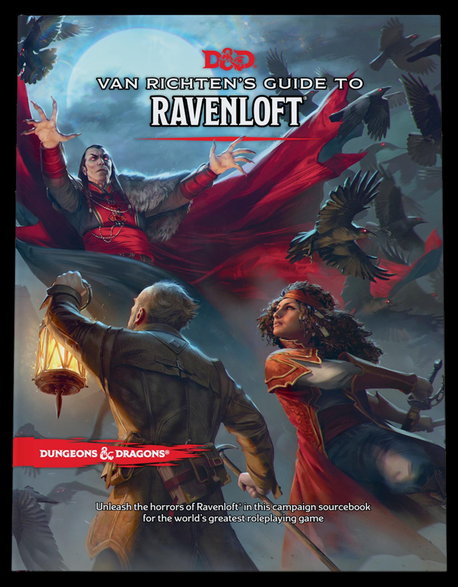 WOTC D&D 5th Ed: Van Richten's Guide to Ravenloft