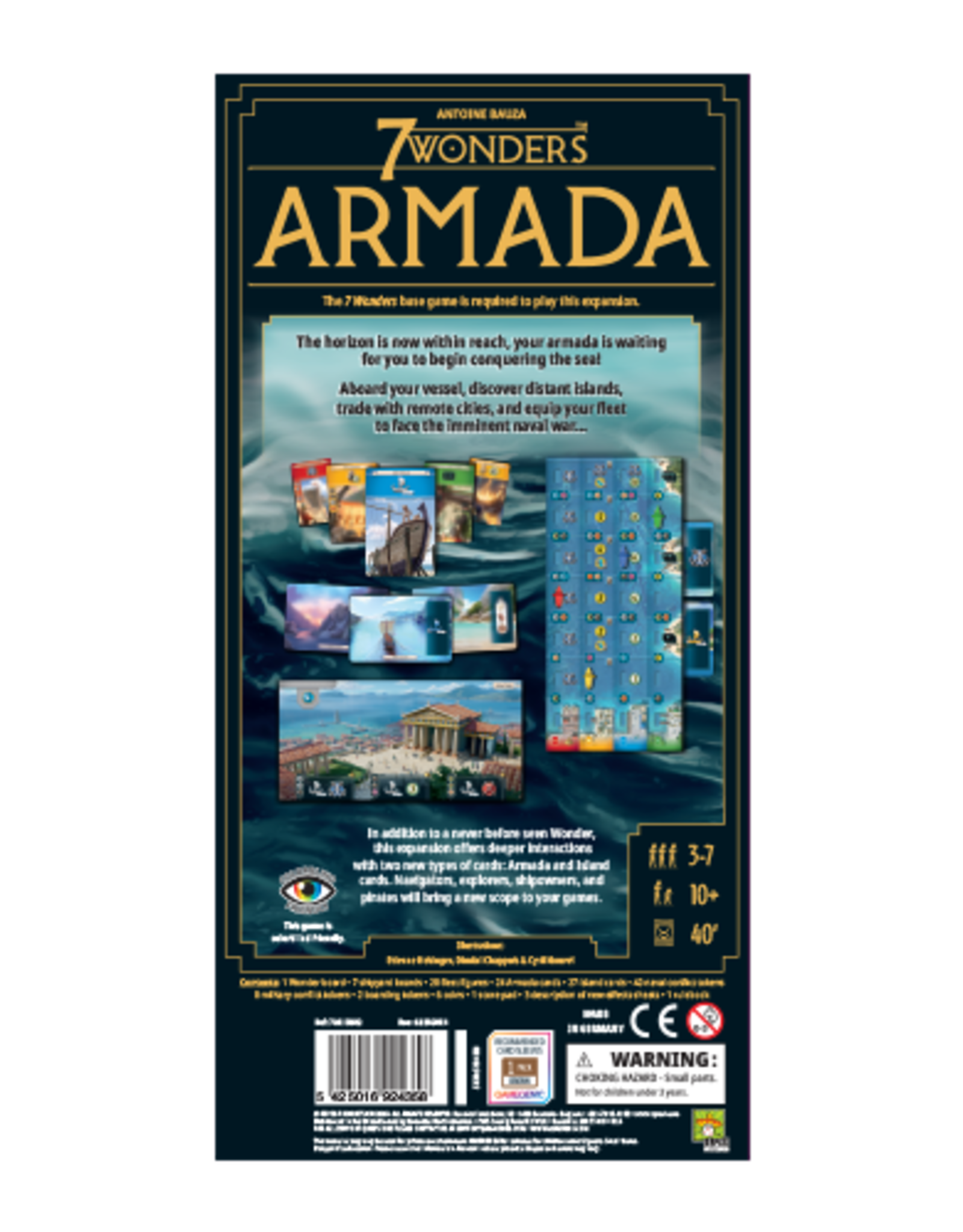 Repos Production 7 Wonders: Armada (New Edition)
