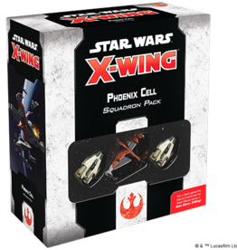 AsmodeeNA Star Wars X-Wing: Phoenix Cell Squadron Pack