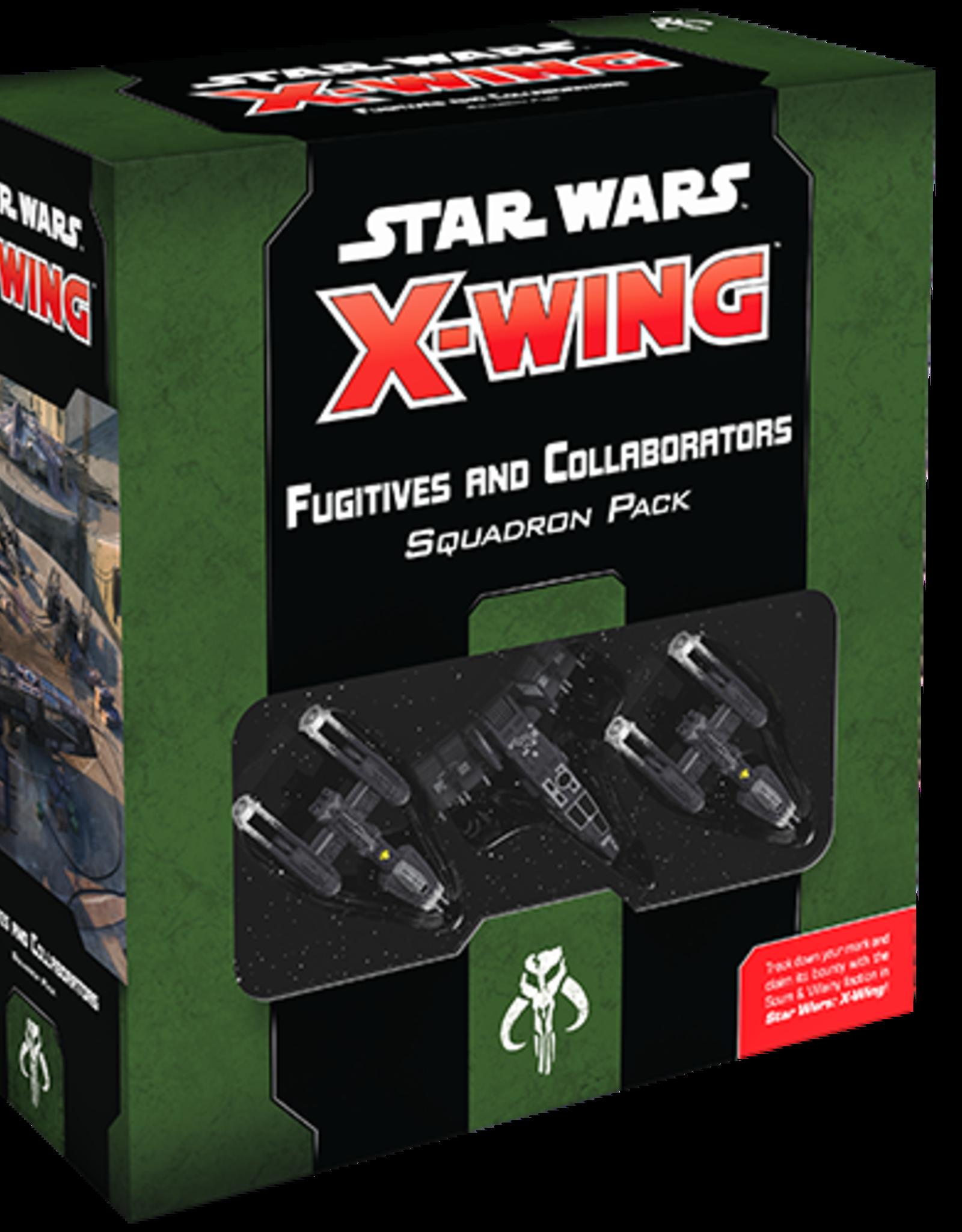 AsmodeeNA Star Wars X-Wing: Fugitives and Collaborators Squadron Pack