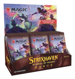 WOTC MTG Strixhaven Set Booster Box (English)
