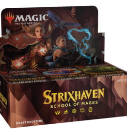 WOTC MTG Strixhaven Draft Booster Box