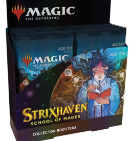 WOTC MTG Strixhaven Collector Display (12 packs)