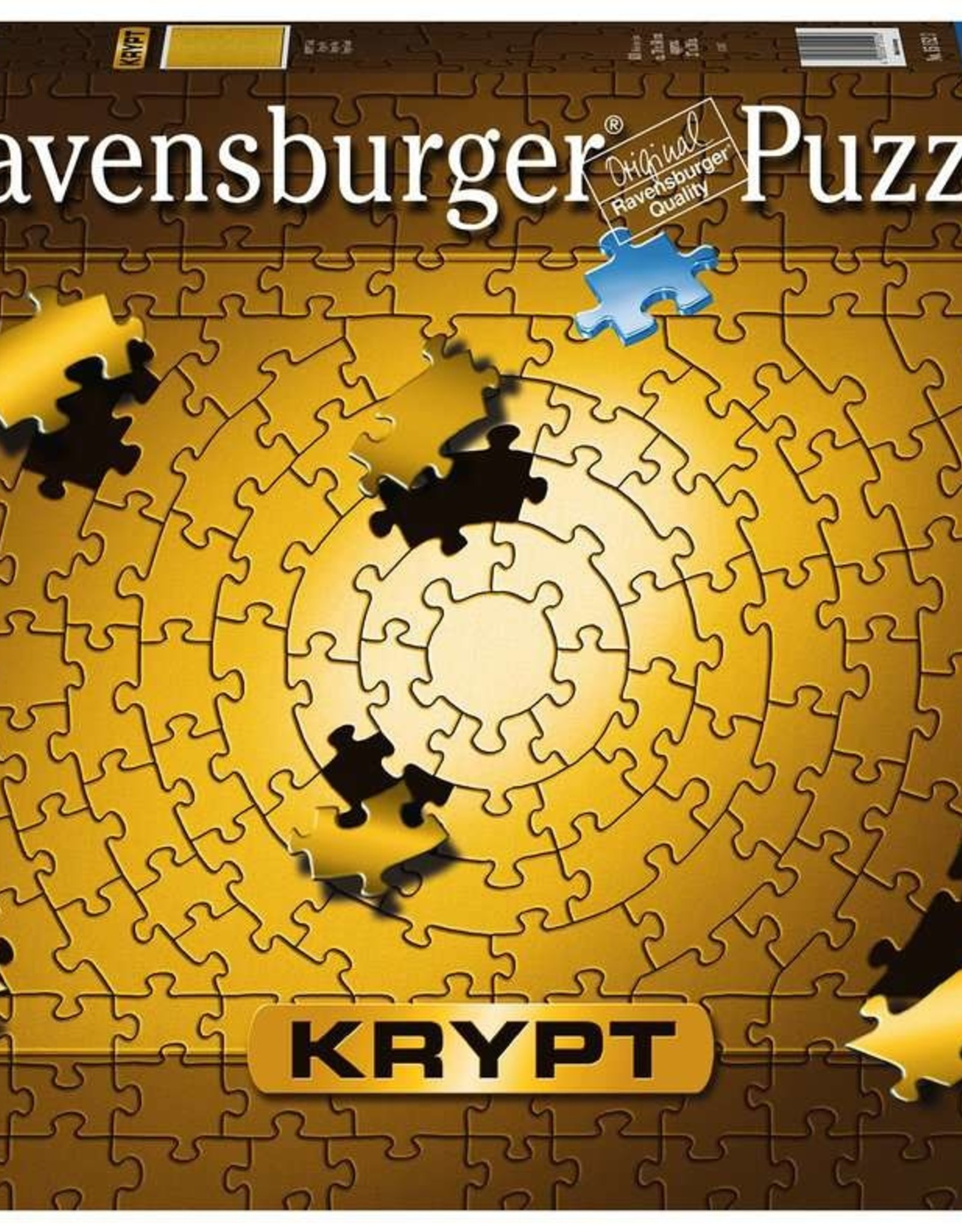 Ravensburger Puzzle 631 Piece: Krypt Gold