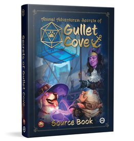 Steamforged Games Animal Adventures RPG: Secrets of Gullet Cove