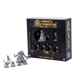 Steamforged Games Animal Adventures RPG: Rat King of Gullet Cove