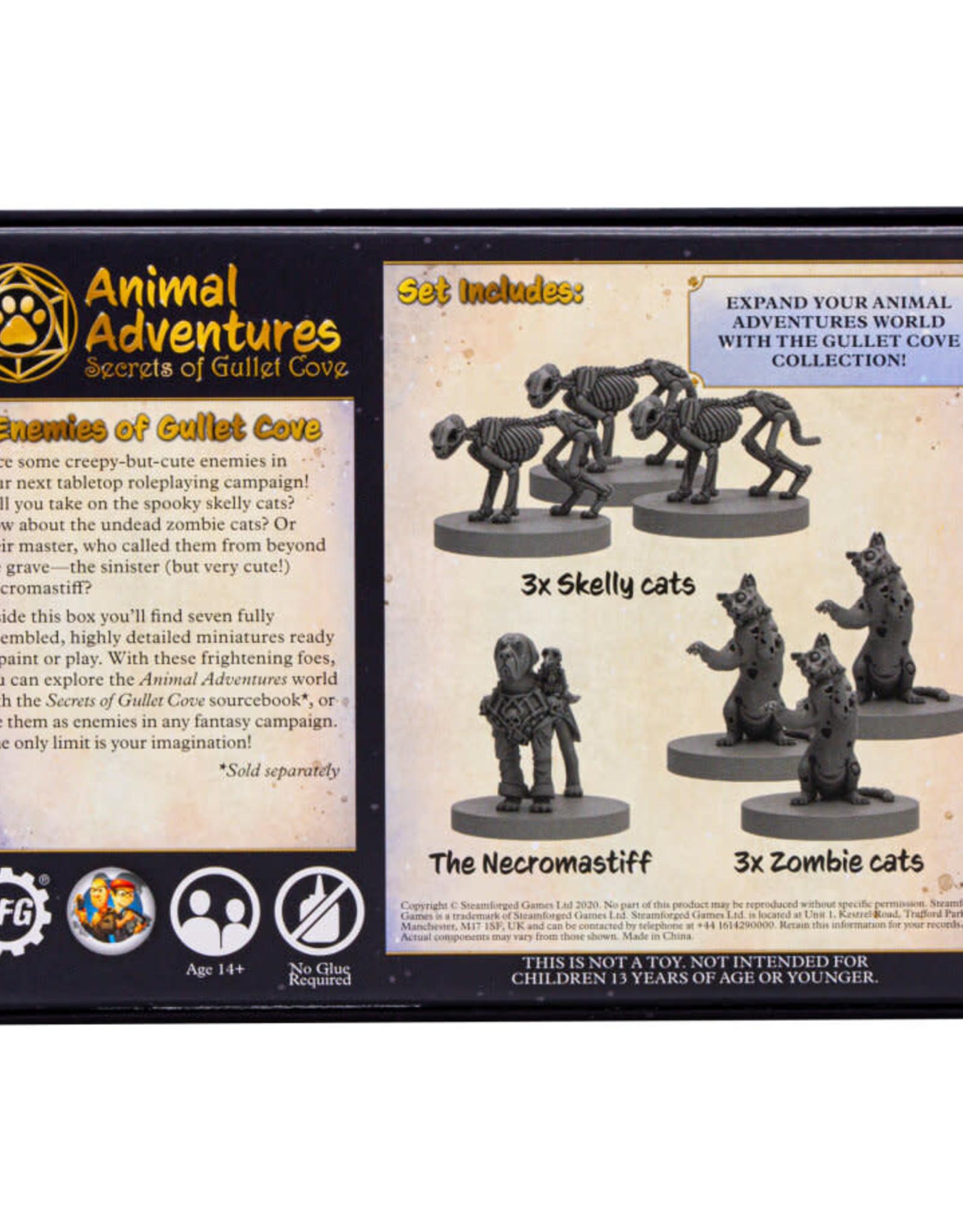 Steamforged Games Animal Adventures RPG: Enemies of Gullet Cove