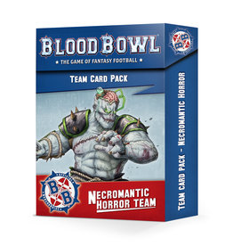 Games Workshop Blood Bowl: Necromantic Horror Team Cards