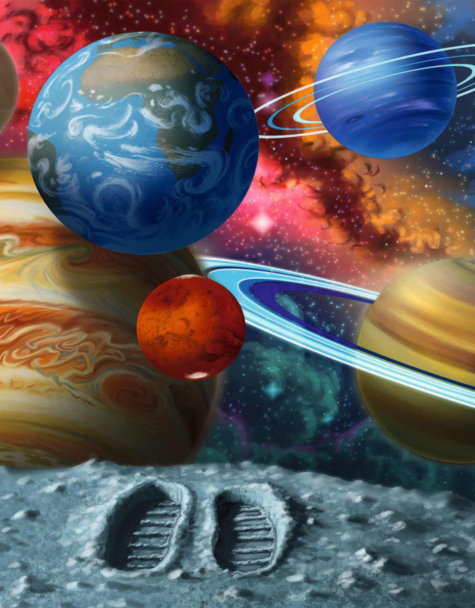 Ravensburger 24 PC Floor Puzzle: Stepping Into Space