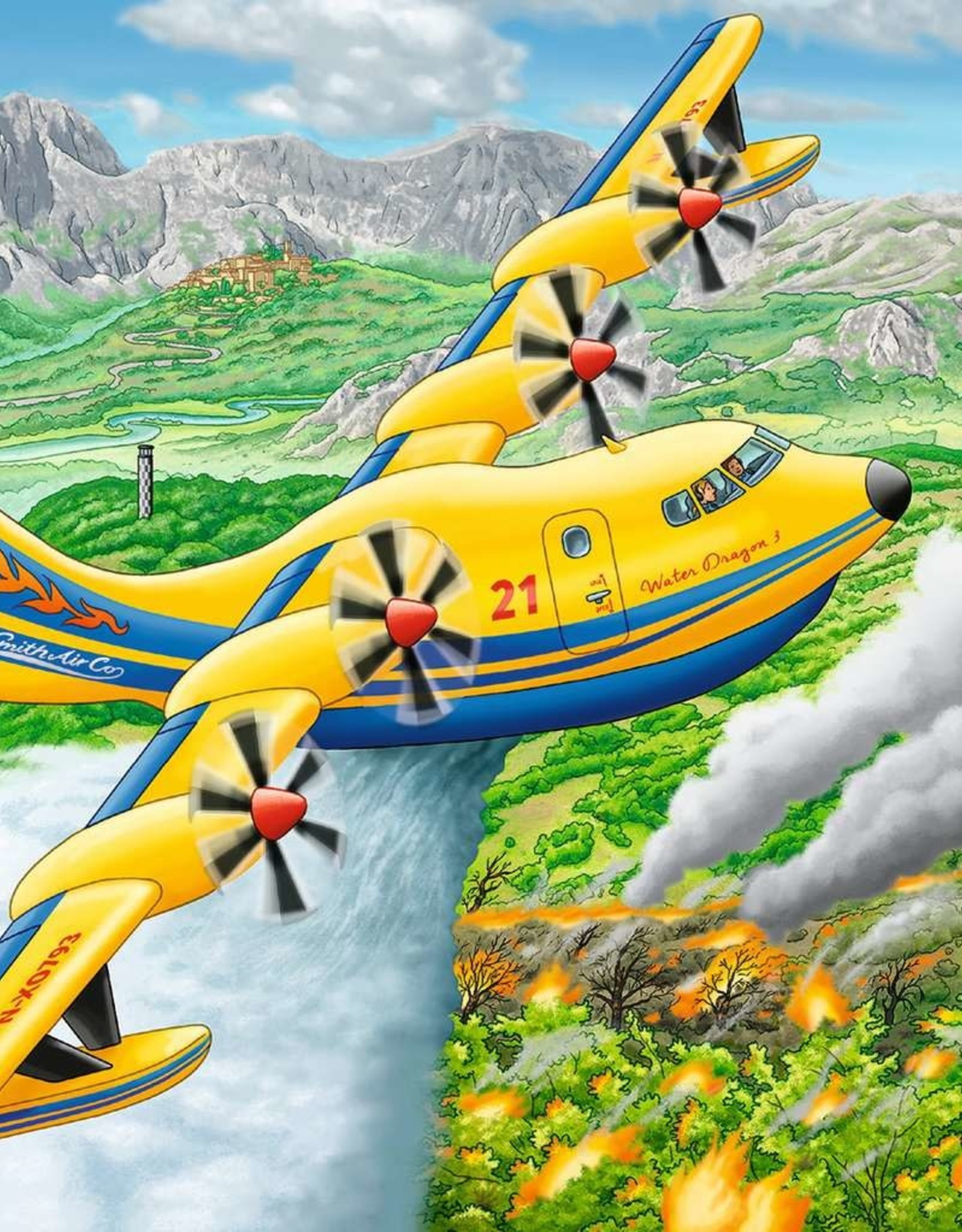 Ravensburger 49 Piece Puzzle: Above the Clouds