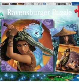 Ravensburger 3x49 Puzzle: Raya the Brave!
