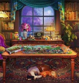 Ravensburger Puzzle 750pc LF: Puzzler's Place