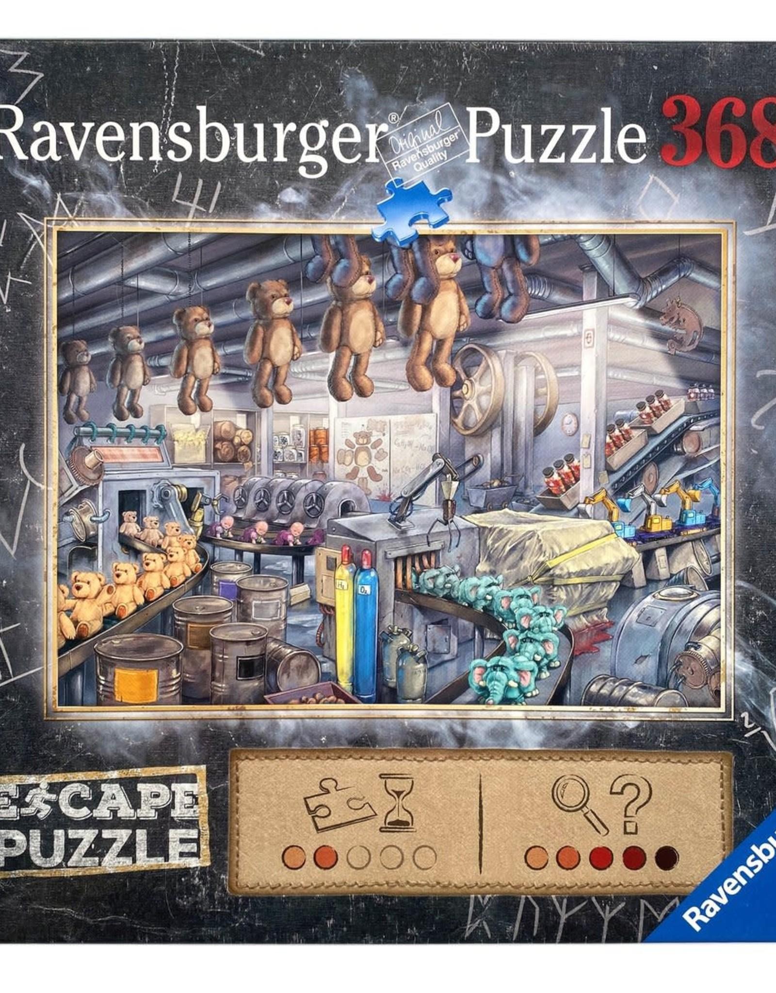 Ravensburger Escape Puzzle 368pc: The Toy Factory