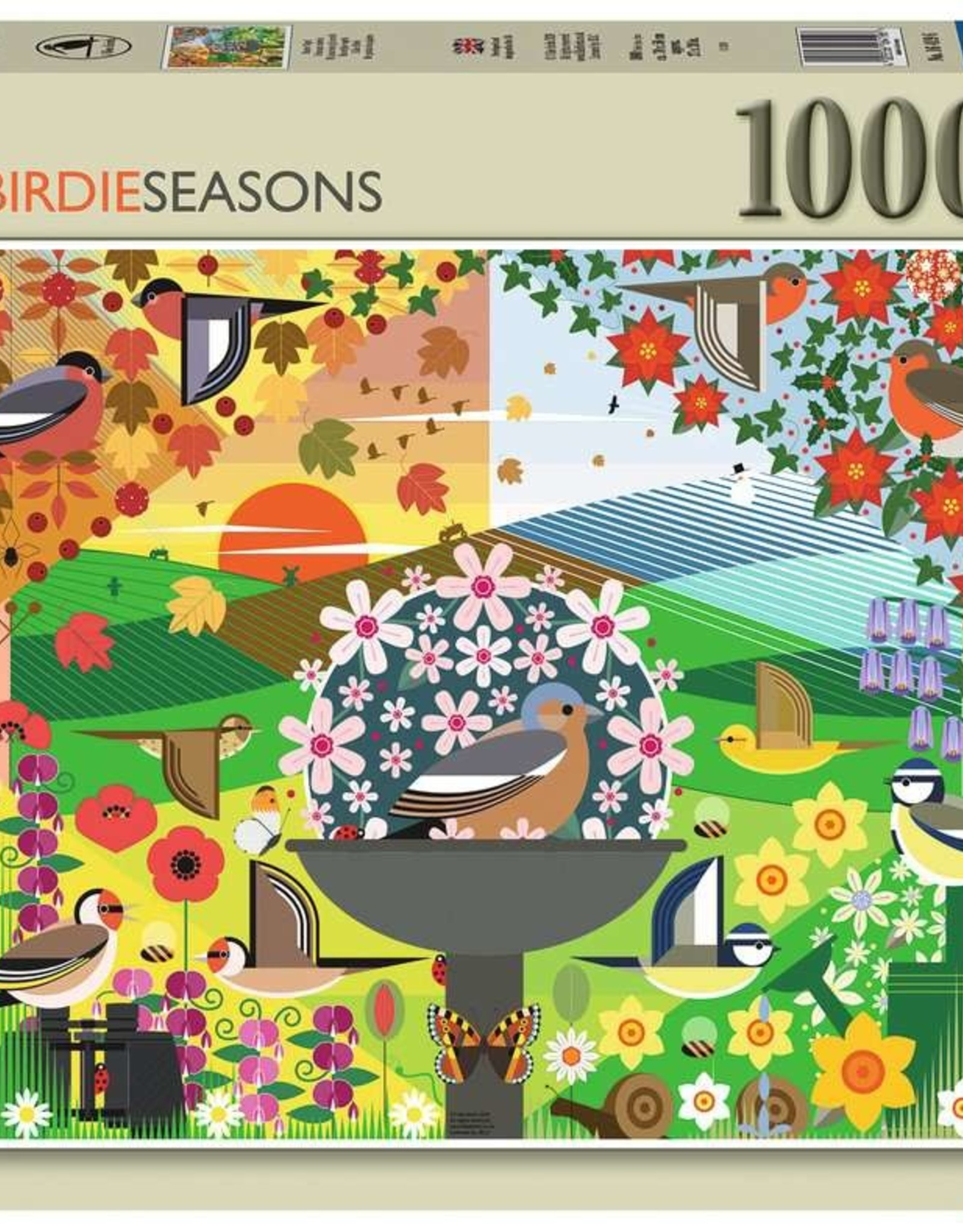 Ravensburger Puzzle 1000 pc: I Like Birds