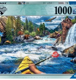 Ravensburger Puzzle 1000pc: Whitewater Kayaking