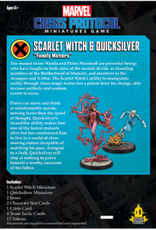 Atomic Mass Marvel Crisis Protocol: Scarlet Witch and Quicksilver