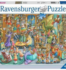 Ravensburger Puzzle 1000pc: Midnight at the Library