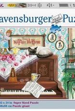 Ravensburger Puzzle 750pc LF: Piano Cat