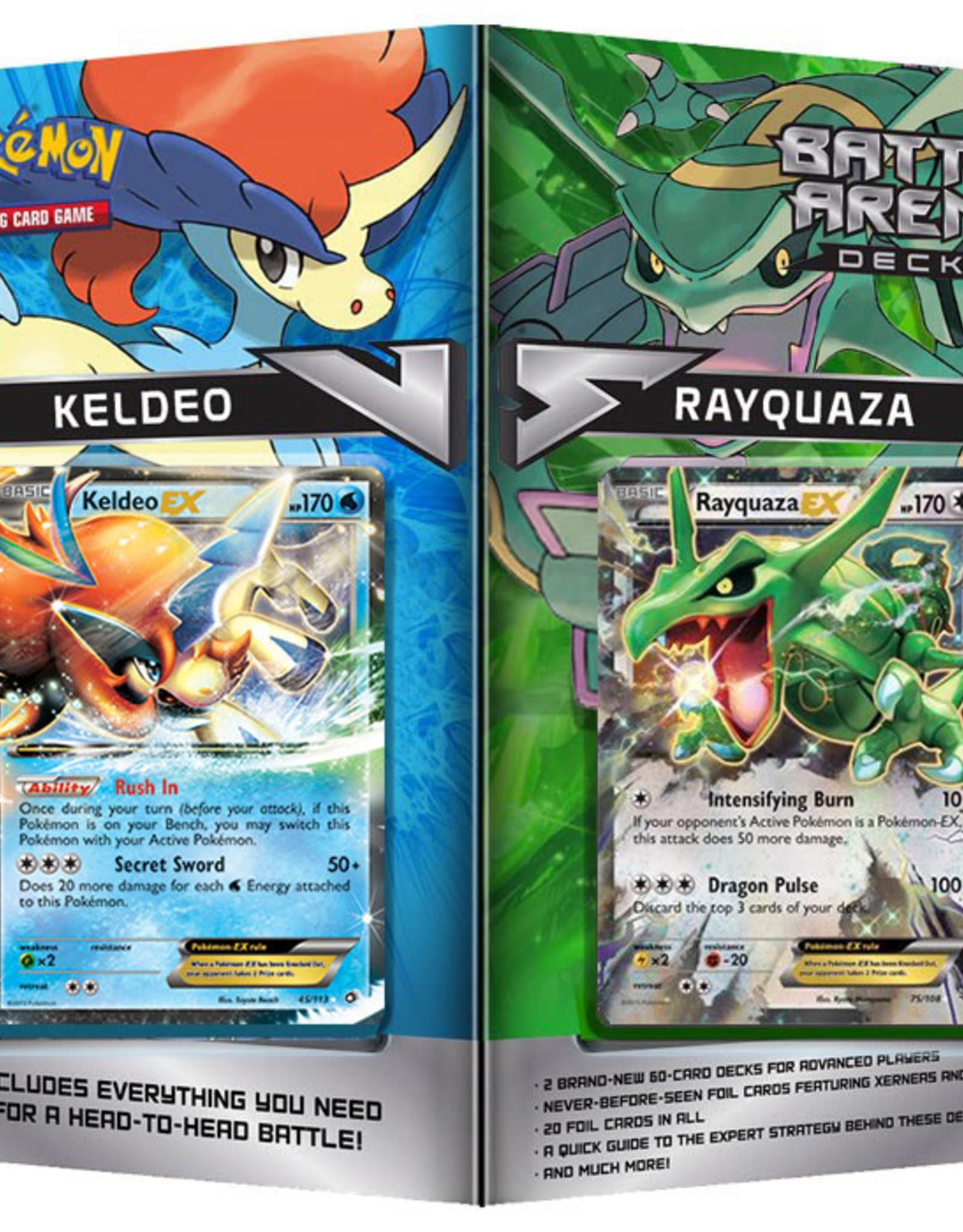 Pokemon Battle Arena Decks (Rayquaza VS. Keldeo)