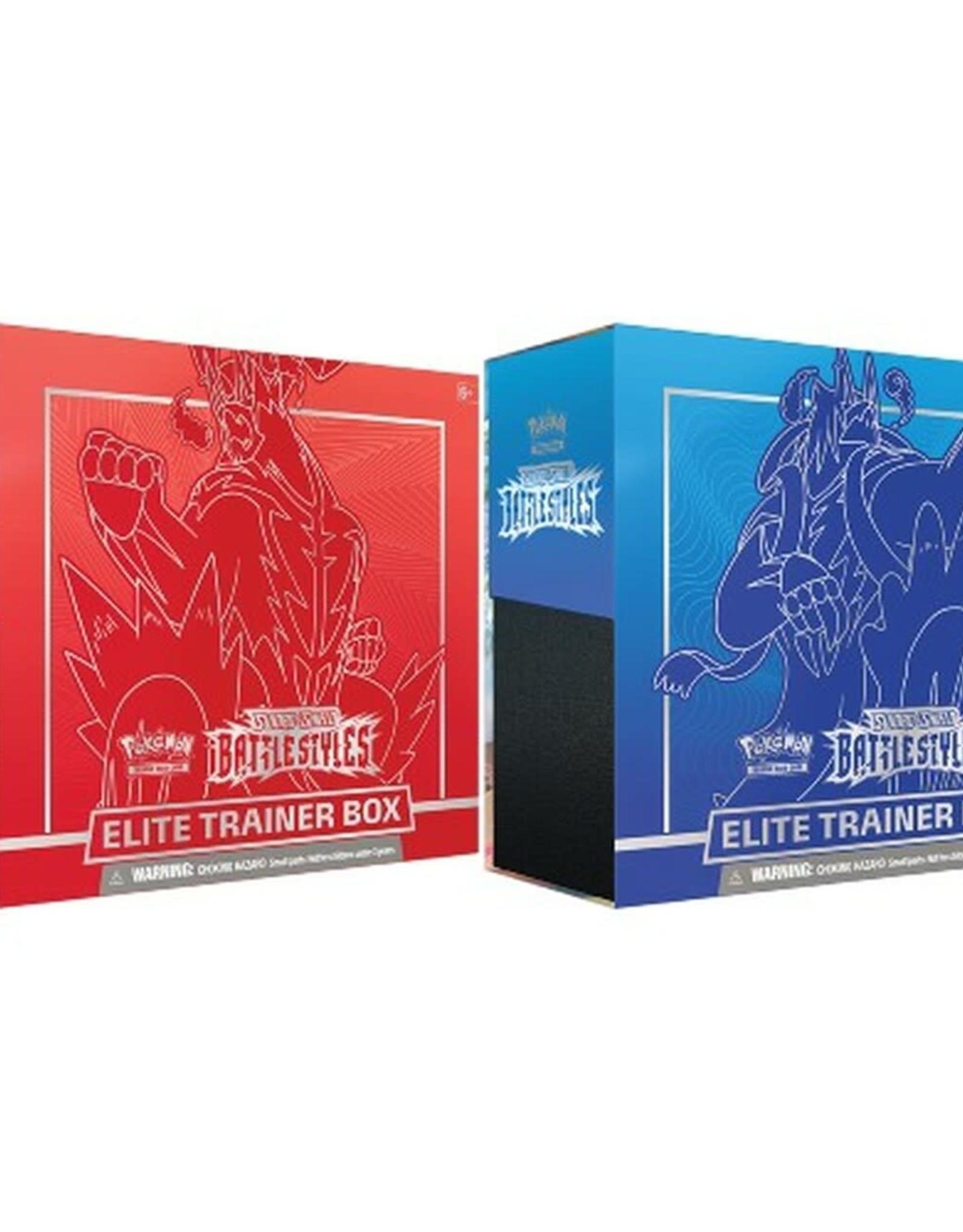 Pokemon : Sword & Shield - Battle Styles Elite Trainer Box