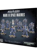 Games Workshop Warhammer 40K: Mark III Space Marines
