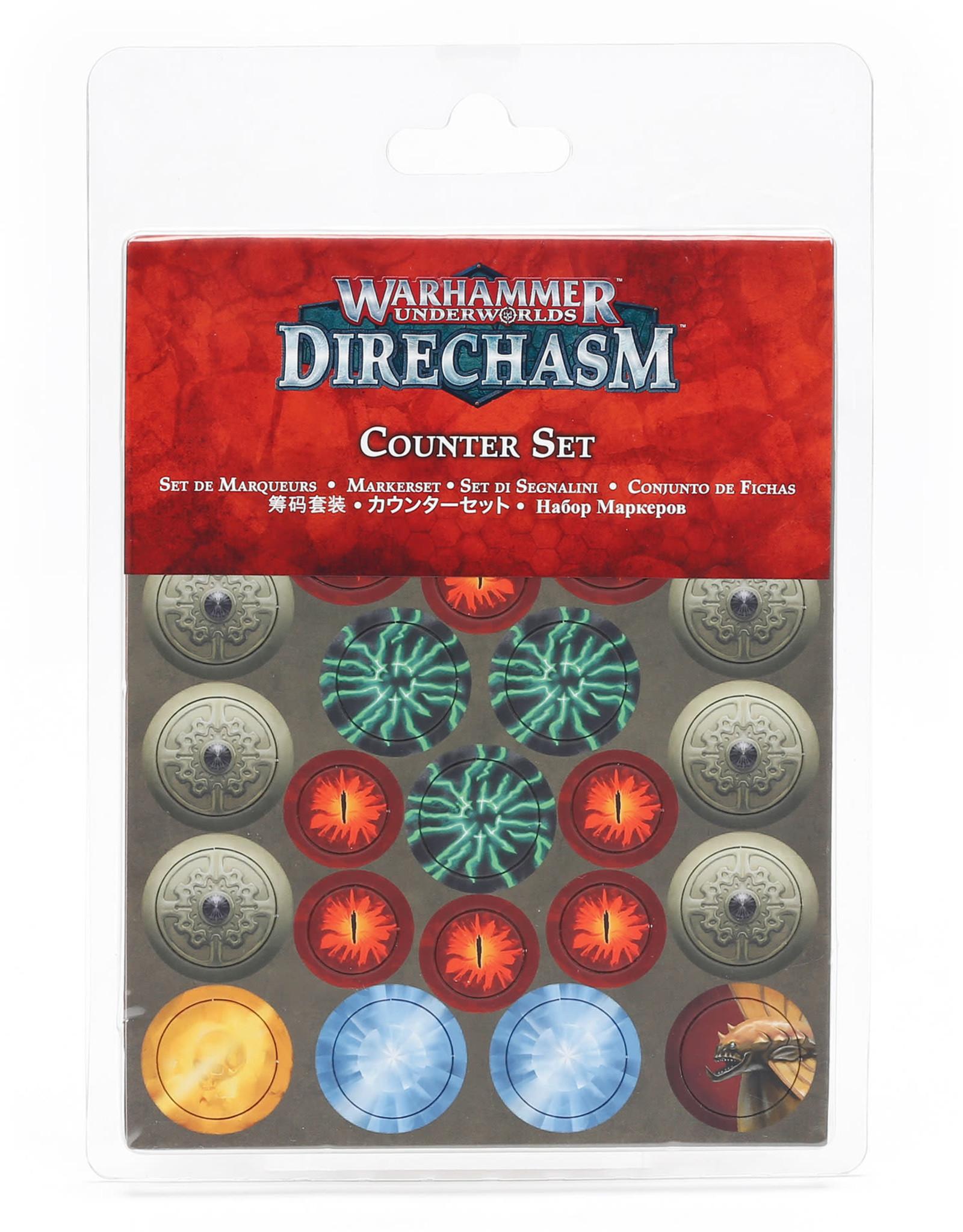 Games Workshop Warhammer Underworlds: Direchasm Counter Set