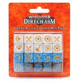 Games Workshop Warhammer Underworlds: Direchasm Grand Alliance Order Dice Pack
