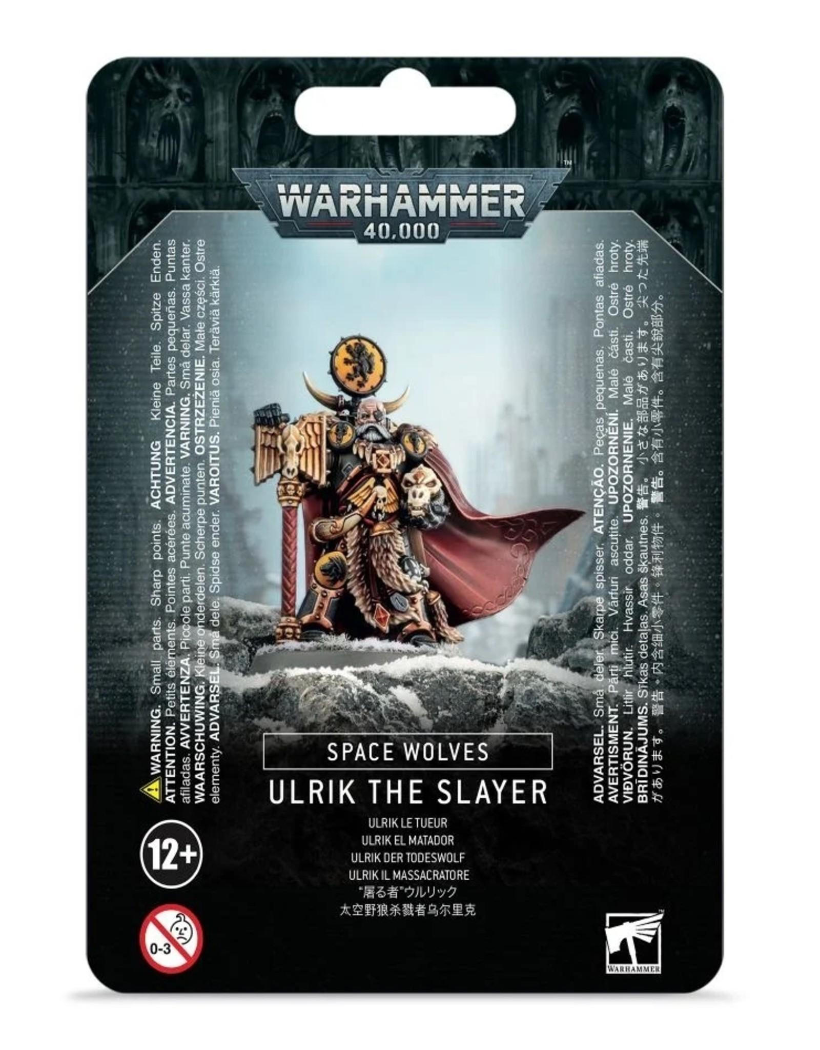 Games Workshop Space Wolves: Ulrik the Slayer
