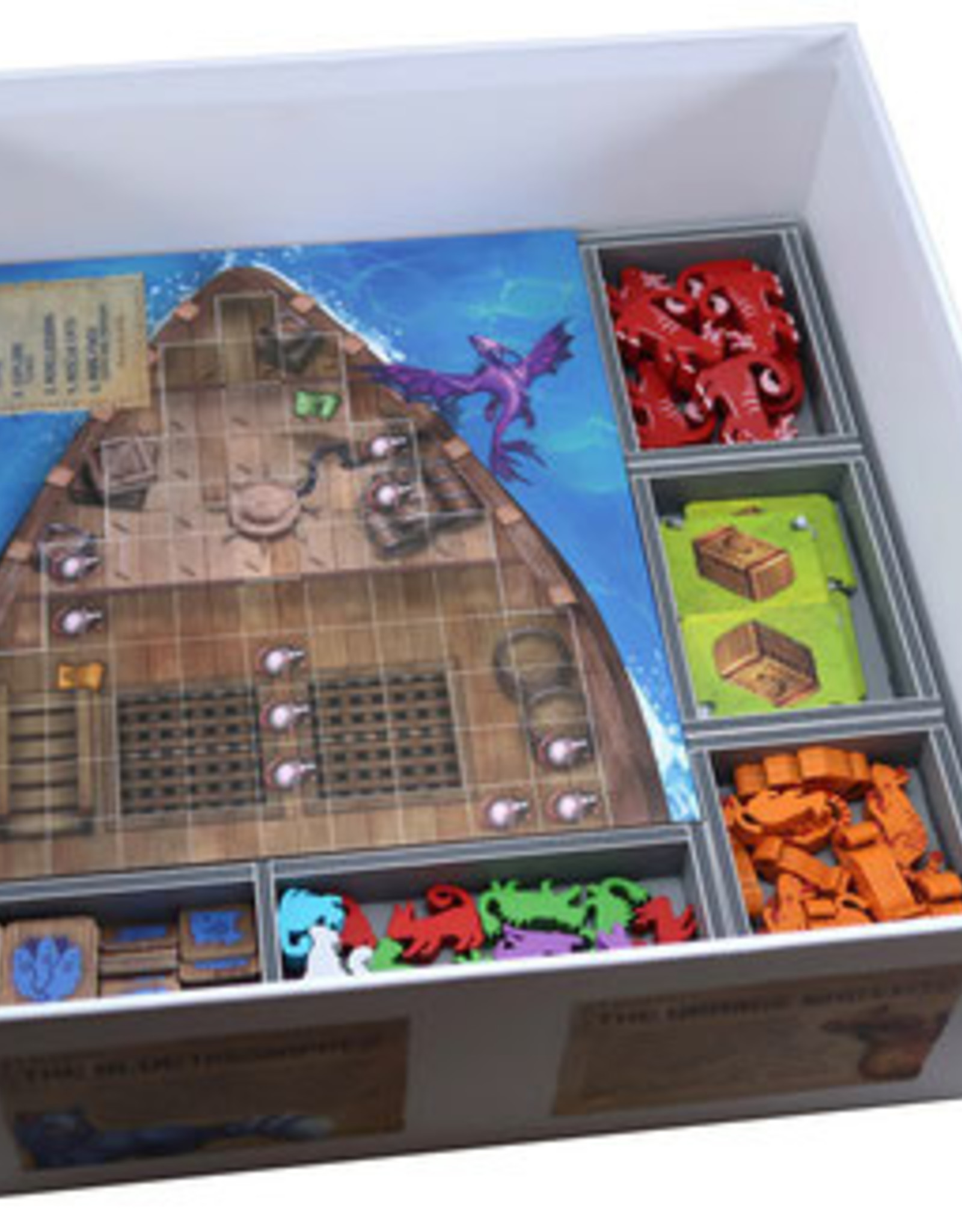 Folded Space Box Insert: The Isle of Cats