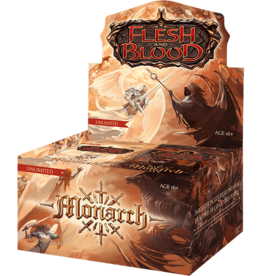 FAB Flesh and Blood: Monarch Booster Box (Unlimited)